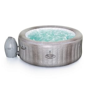 Bestway Lay-Z-spa Cancun jacuzzi | 4 persoons | rond